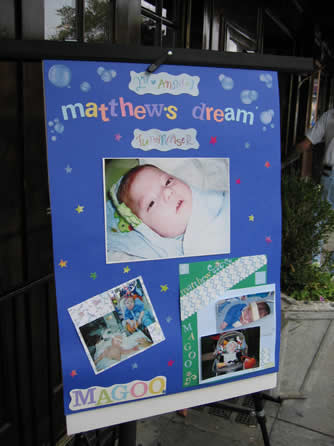 2nd Annual Matthew's Dream Fundraiser in memory of Matthew Giunta Jr.